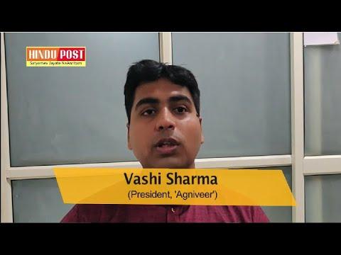 Hindu Post interviews Dr  Vashi Sharma, President, 'Agniveer'