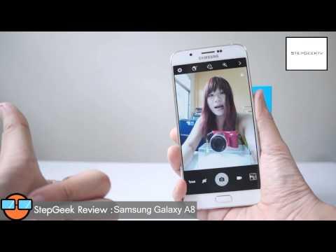 รีวิว StepGeek SS3 EP.38 Samsung Galaxy A8 ดีไหม