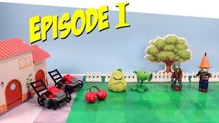 Рослини проти зомбі іграшки серії Гри 1 Пеа-стрілялка проти зомбі