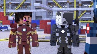Minecraft Civil War Batalla del Aeropuerto Parte 1 (Español latino) Animación de Minecraft