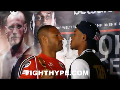 (TEMPERS ERUPT) KELL BROOK VS. ERROL SPENCE FULL OFFICIAL FINAL PRESS CONFERENCE AND FACE OFF