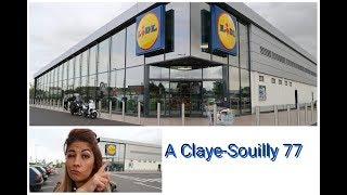 Je suis allé faire mes courses chez lidl le plus grand magasin d'île-de-France à Claye