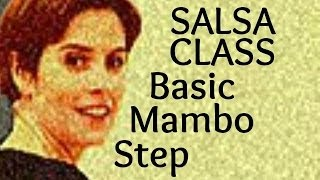 Salsa Basic Mambo Step from Salsa Class for Beginners 6/22