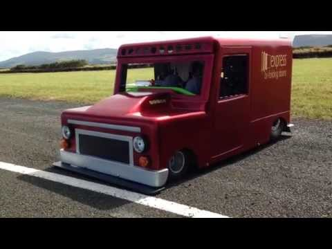 The Express Van - First Test - Jurby, Isle Of Man - Aprilia RSV 1000 Mille R
