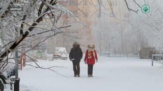 Из-за сильных морозов в школах Мирнинского района объявлен актированный день
