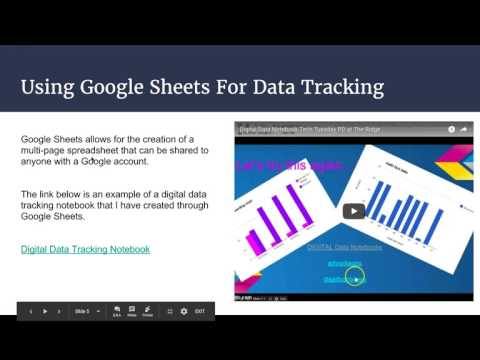 Digital Data Tracking