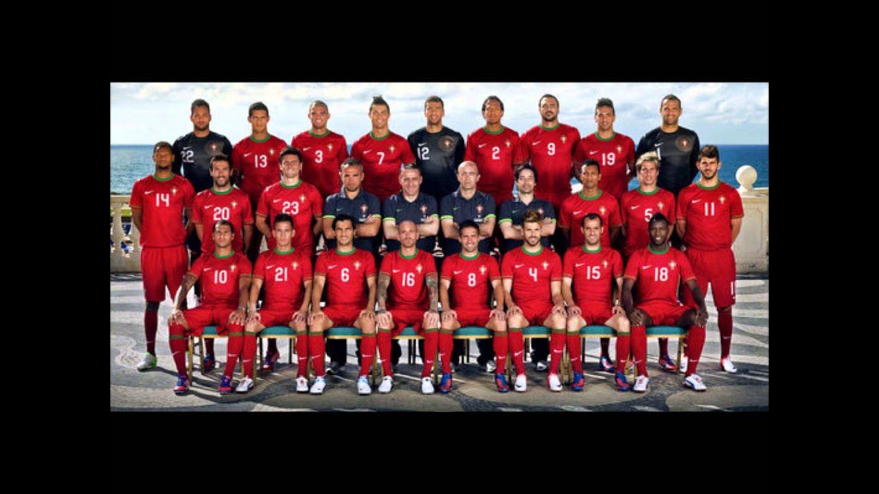 Portugal Equipe Drapeaux Logo Youtube