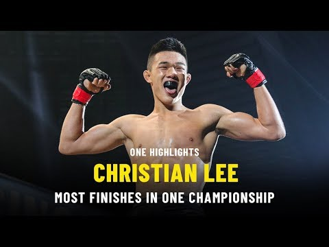 Christian Lee  Most Finishes  ONE Records