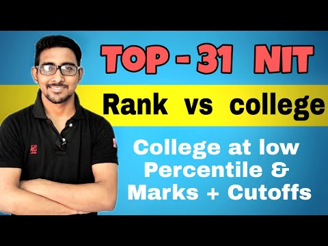 TOP 31 NITs With THere Closing Rank | Cutoff For NIT 2019 | Special & Spot Round Cutoff Jee Mains