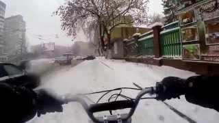 Razor MX650 (+LiFePO4) First Winter Ride - way