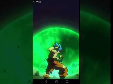 Broly 2018 Movie Wallpaper Goku Blue Youtube