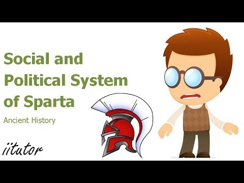 √ Social and political system of Sparta - Ancient History - iitutor