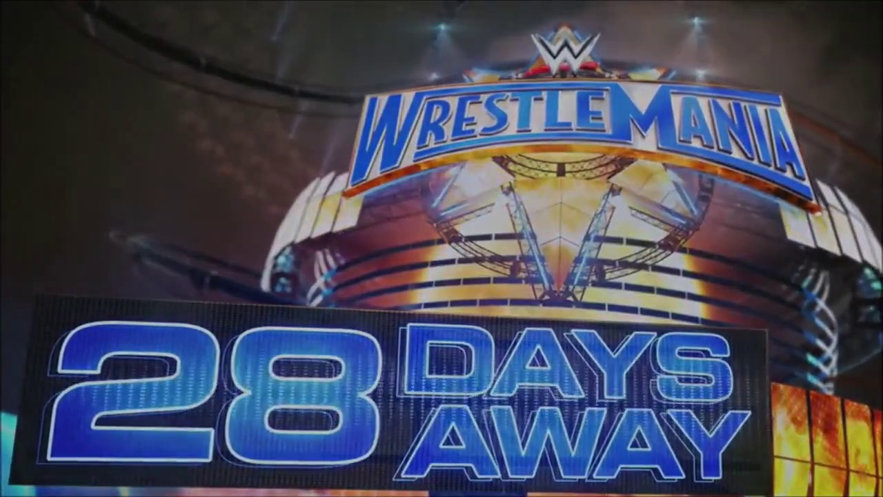 Download Wrestlemania 33 - 28 days away
