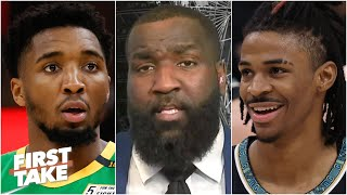 Kendrick Perkins: The Grizzlies will upset the Jazz | First Take