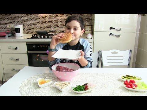 Kerem Mutfakta 5. Bölüm Hamburger Yapıyoruz