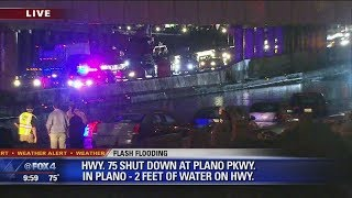 Major flooding issues closed Dallas freeway