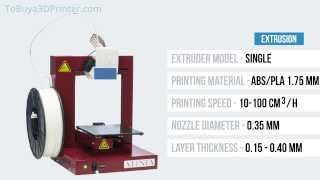 Afinia H480 3D Printer Review