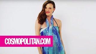 Top 12 Sexiest Ways to Tie a Sarong   Cosmopolitan