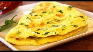 Omelete simples fitness