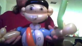 Balloon Twisting Go Diego Go Look a like balloon character by The Balloon Bandit