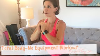 28-Minute Total Body Workout: No Equipment Home Exercises