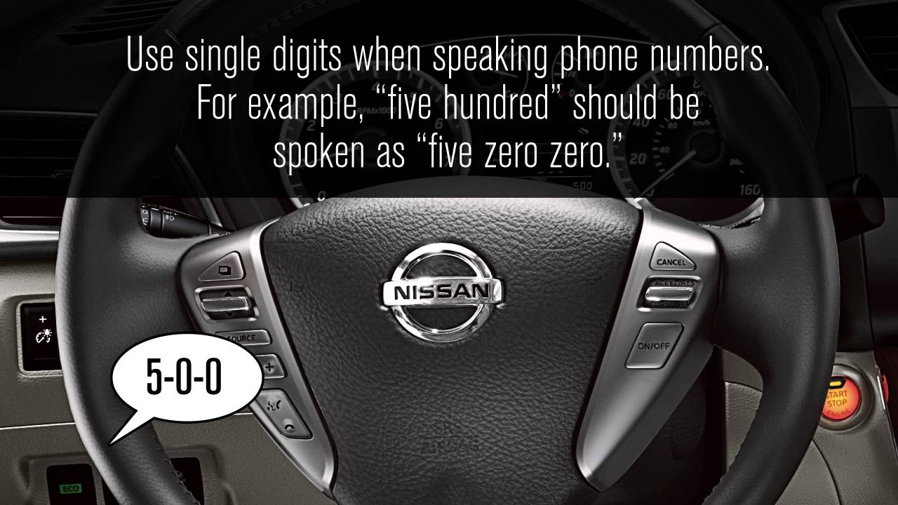 Nissan Maxima: BluetoothT Hands-Free Phone System without Navigation System (if so equipped)