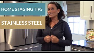Home Staging Tips:Cleaning Stainless Steel Appliances