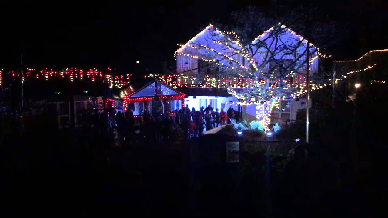 bluestone wales christmas village light show - Lights For Christmas Village
