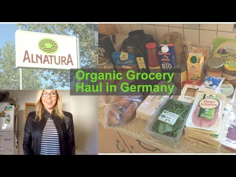 ALNATURA - Organic Grocery Shopping in Germany Episode 3