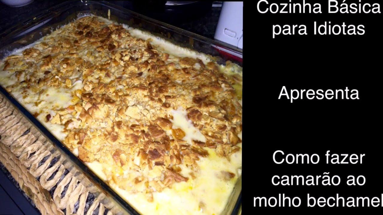 Como fazer camarão ao molho bechamel (Receita de Páscoa)