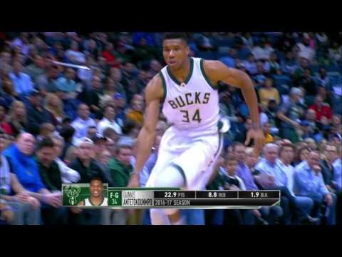 MIP (Most Improved Player) Finalist: Giannis Antetokounmpo