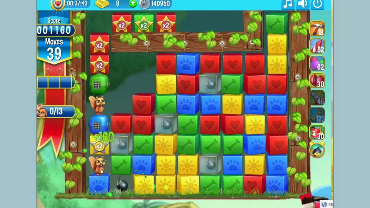 Pet rescue island level 3 and 4 4th 6 th august 2017 for Pet island level 4