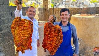 Mountain Lamb Samarkand Uzbekistan | Tandoori Lamb | Uzbekistan Best Food | Mubashir Saddique