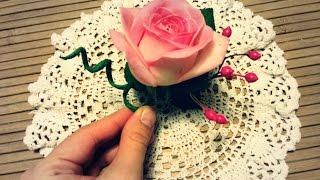 Свадебная Бутоньерка с Розой