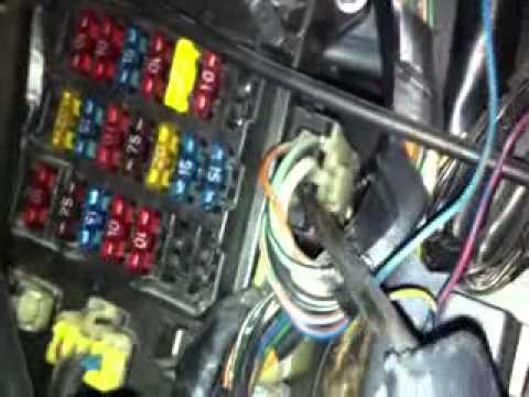 300ZX Z32 Fuse Box  YouTube