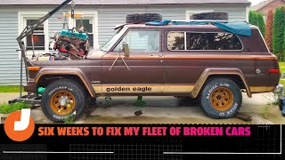 homepage tile video photo for David Tracy Frantically Tries Fixing His Cars After Someone Complained To The City