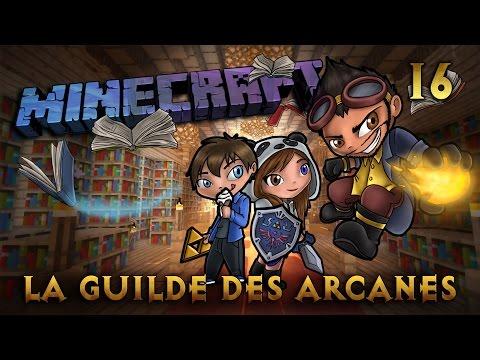 Minecraft - Rosgrim - La Guilde des Arcanes - Ep 16 - Les Temples Zelda !