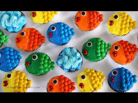 Fun cupcake decorations my web value for Fun and easy cupcake decorating ideas