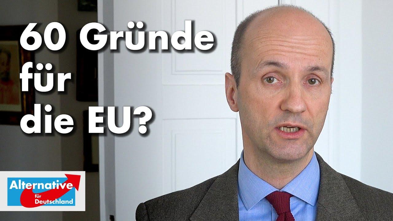 Nicolaus Fest zu 60 Gründen für die EU