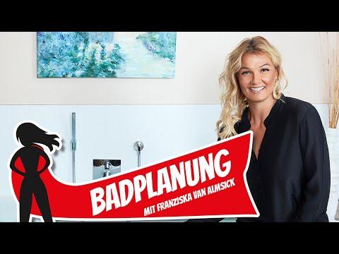 Das perfekte Badezimmer planen - mit Franziska van Almsick | Hausbau Helden