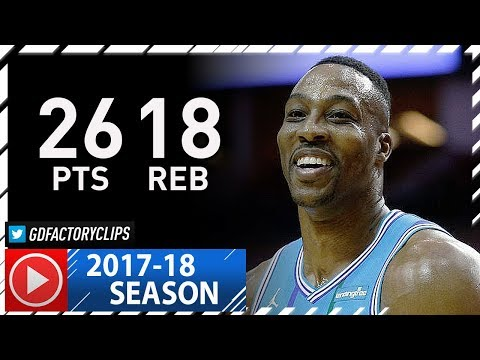 Dwight Howard Full Highlights vs Rockets (2017.12.13) - 26 Pts, 18 Reb, 3 Blocks