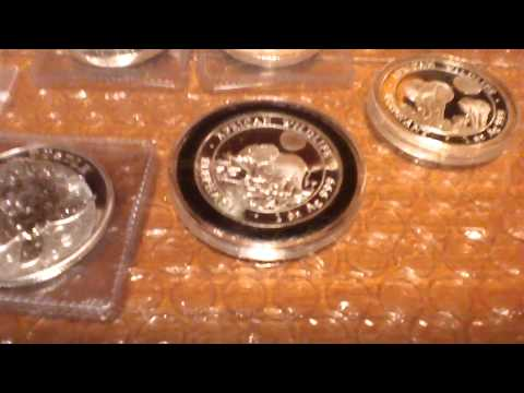 Silver Buyer's Silver Bullion Sale. 1/2 Oz to 5 Oz World Coins, Bars. CLOSED