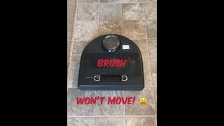 Neato Botvac Connected - Brush Stuck/Locked Up SOLVED!