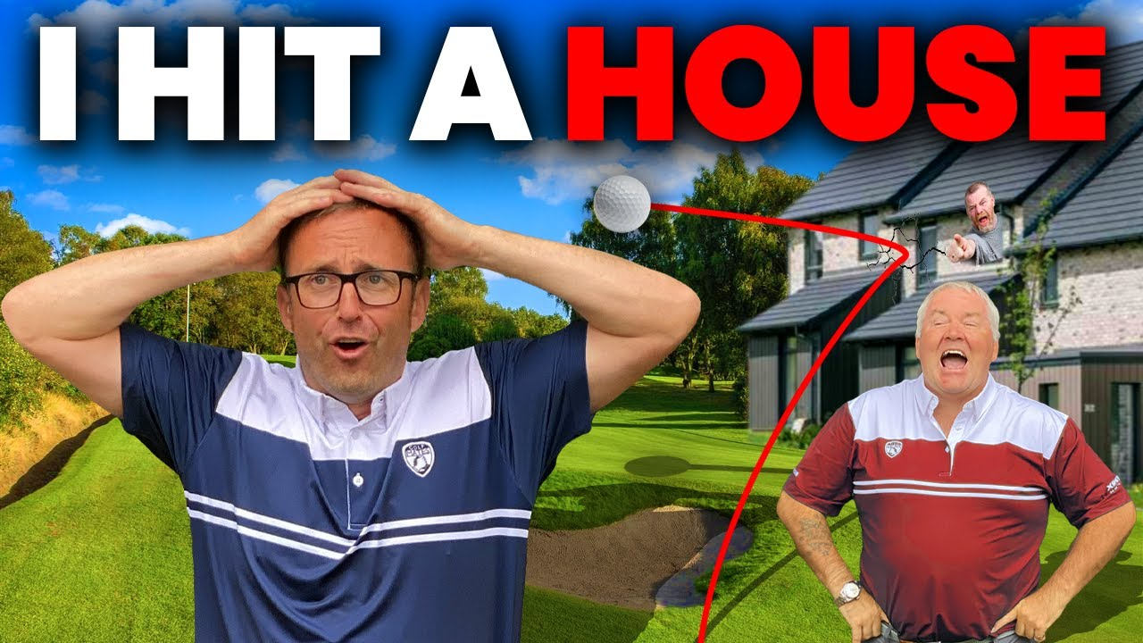 I HIT A HOUSE - GOLF MATCH GONE WRONG!