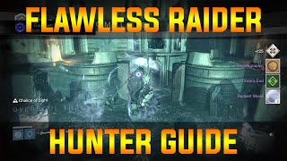 Destiny: Flawless raider - SOLO Crota's end - Hunter guide