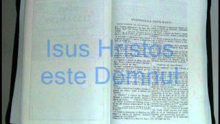 1 - MATEI - Noul Testament - Biblia Audio Romana