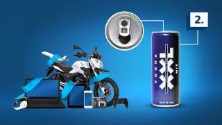 XXL Vodka Promo - XXL Vodka Blue TV Ad