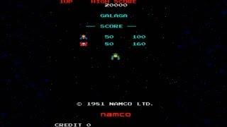 Galaga 1981 Namco  Mame Retro Arcade Games