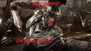 Is Ryse 60 FPS on Xbox One X?
