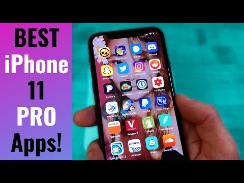 BEST IPhone 11 Pro Apps // What's On My IPhone 11 Pro 2019